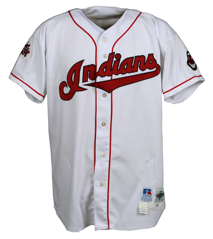 low priced e7372 3fd9a 1999 Jim Thome Cleveland Indians Game-Worn Jersey