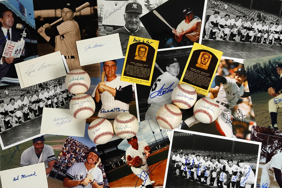 NY Yankees, Giants & Mets - Fall 2012 Catalog Auction