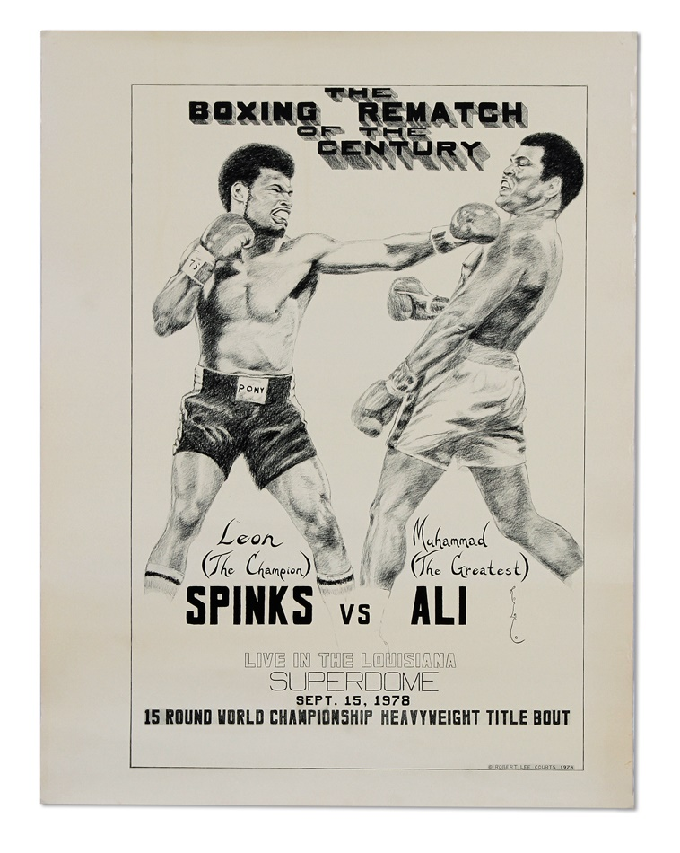 Muhammad Ali & Boxing - Fall 2012 Catalog Auction