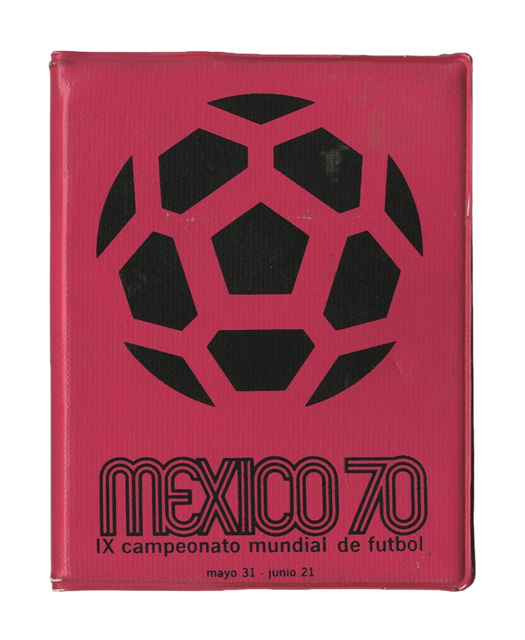 1970 Mexico World Cup Press Credentials
