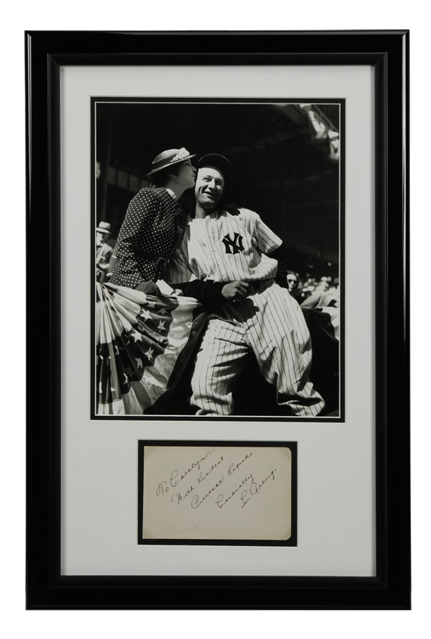 Baseball Autographs - Fall 2012 Catalog Auction