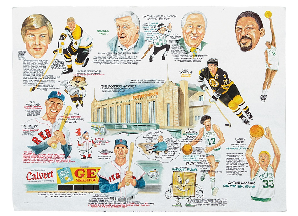 Boston Sports - Spring 2013 Catalog Auction