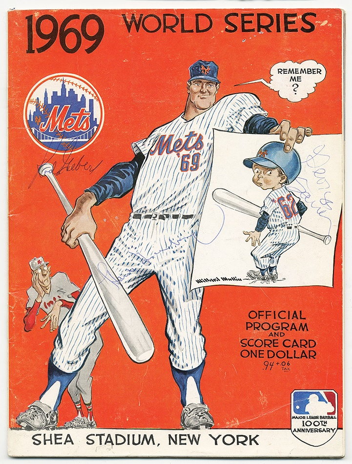 Baseball Memorabilia - Spring 2013 Catalog Auction
