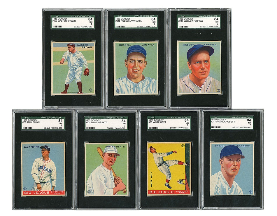 The Paul Welsch Goudey Collection - Spring 2013 Catalog Auction