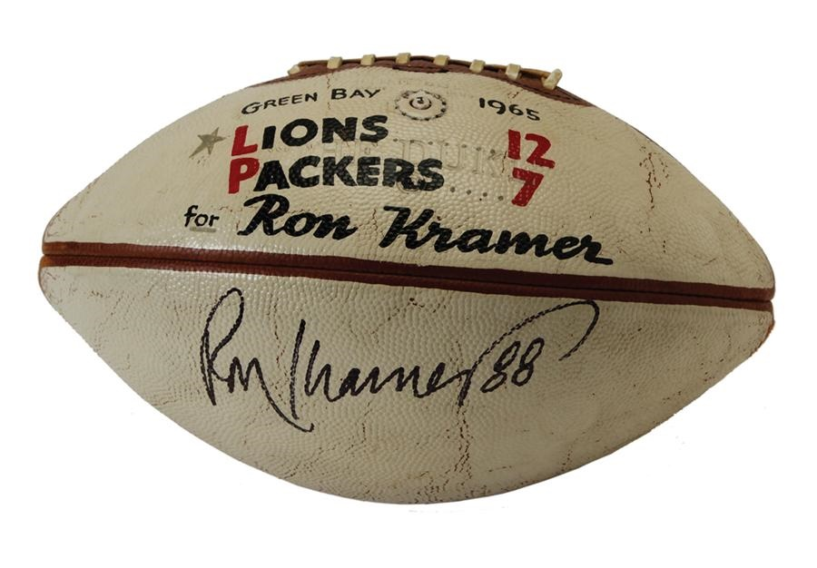 The Green Bay Packers Collection - auction