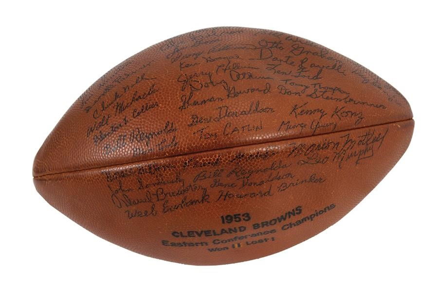 Football - Spring 2013 Catalog Auction