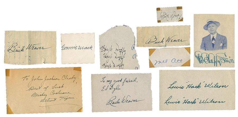The Letter Writer Collection - Spring 2013 Catalog Auction