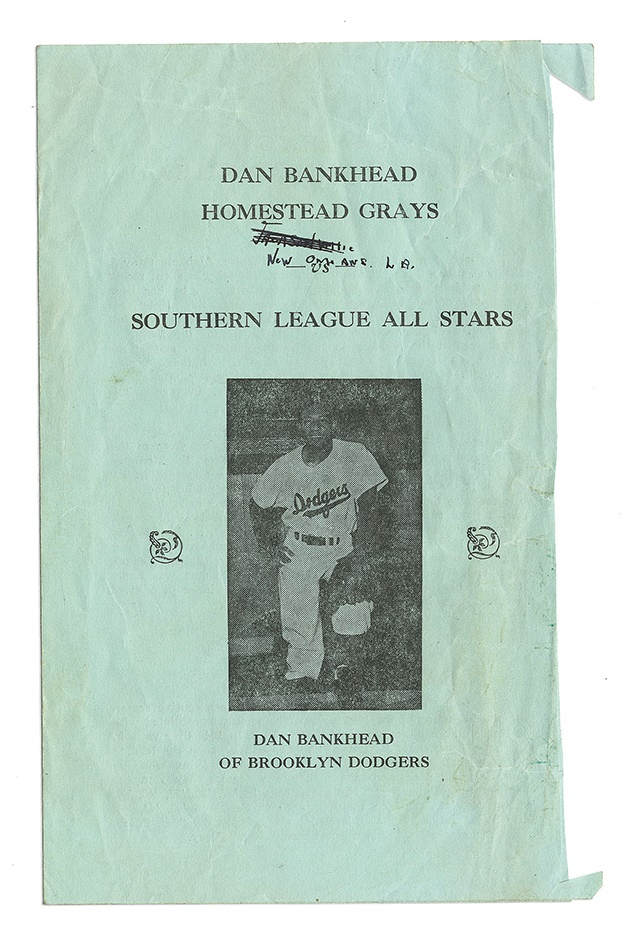 The Dan Bankhead Collection - auction