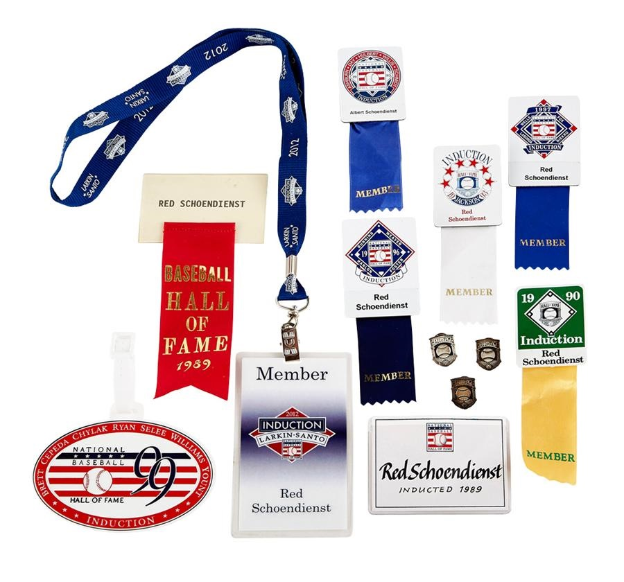 Hall of Fame Name Tags, Pins and Golf Tag (15)