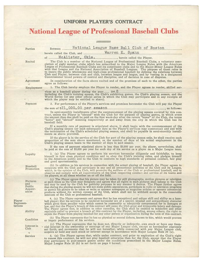 Baseball Autographs - Fall 2013 Catalog Auction