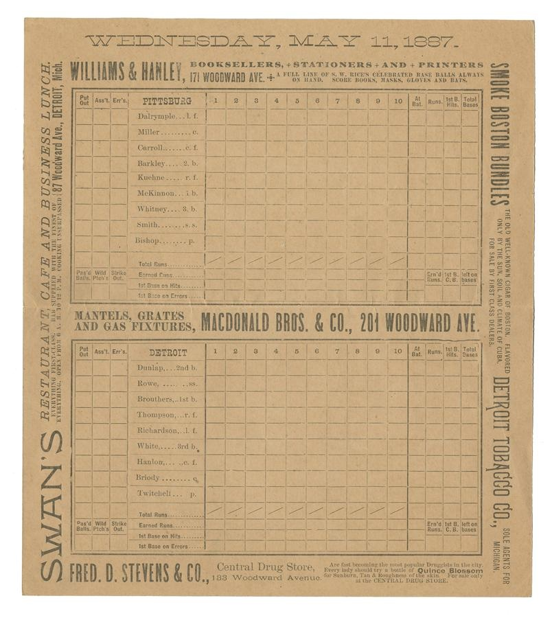 19th Century Baseball - Fall 2013 Catalog Auction