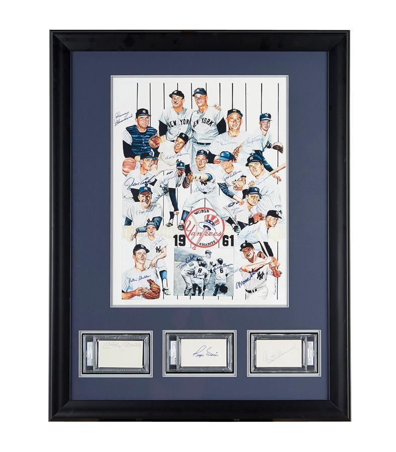 NY Yankees, Giants & Mets - Fall 2013 Catalog Auction