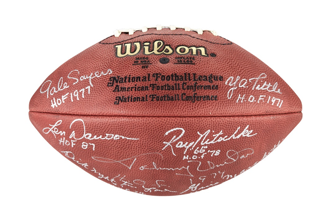 Football - Fall 2013 Catalog Auction