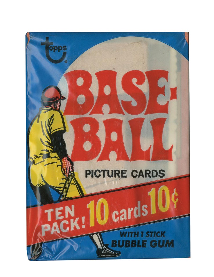 Vintage Unopened Packs - Spring 2014 Catalog Auction