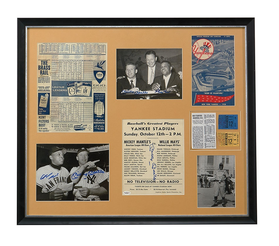Sports Tickets and Programs - Spring 2014 Catalog Auction