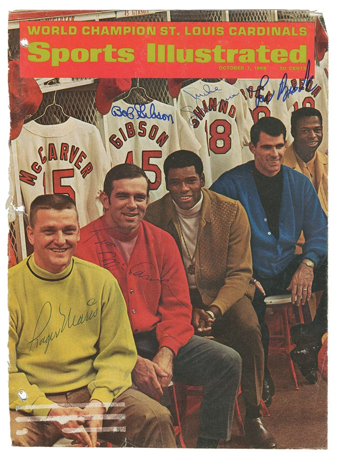 Property from the Collection of Lou Brock - Spring 2014 Catalog Auction