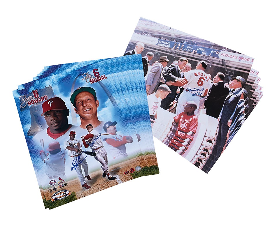 Baseball Autographs - Spring 2014 Catalog Auction