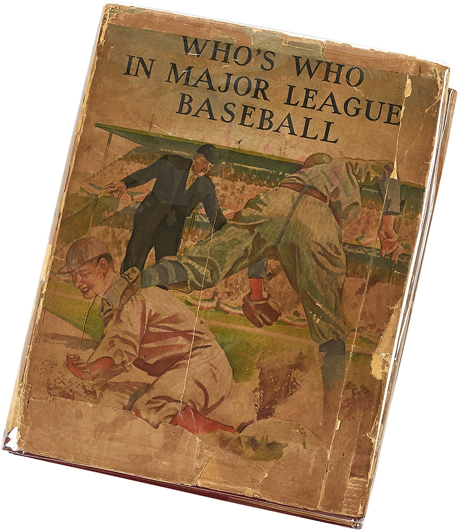 1937 Who's Who In Baseball with Original Dust Jacket