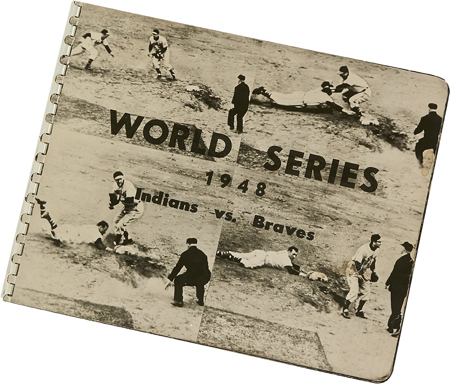 One-Of-A-Kind 1948 World Series Photograph Album