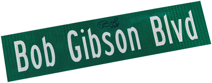 The Bob Gibson Collection - auction
