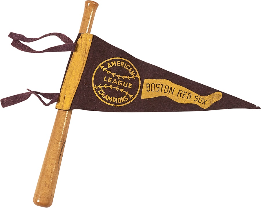 1946 Boston Red Sox American League Champions Pennant &