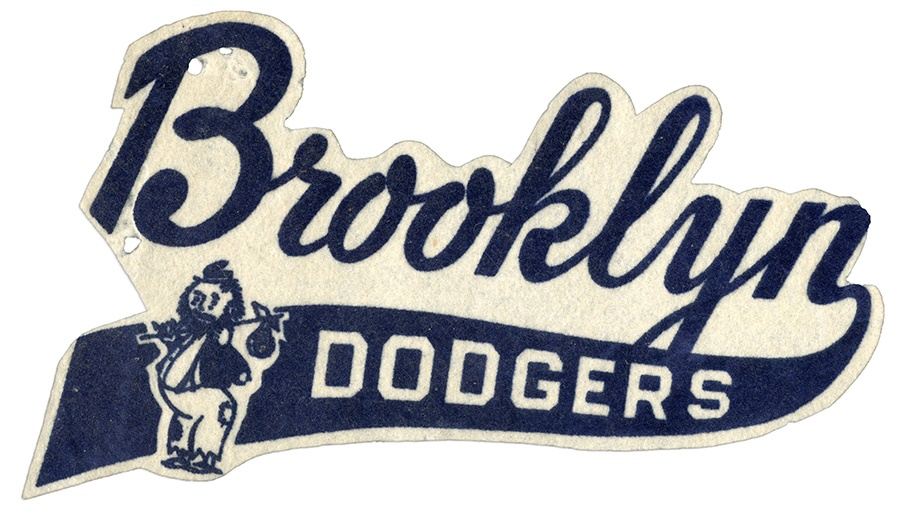1950s Brooklyn Dodgers Large Jacket Patch