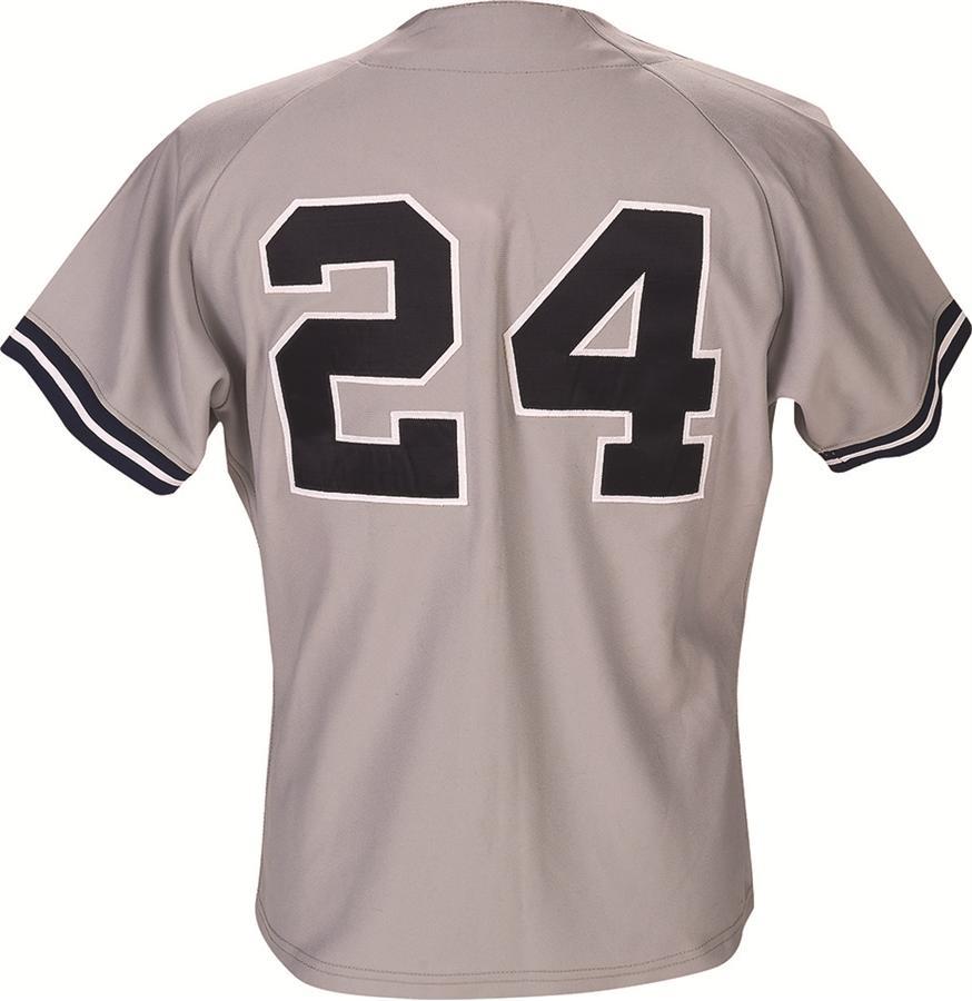 timeless design 1697c b7246 1989 Rickey Henderson New York Yankees Game Worn Jersey
