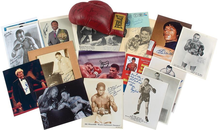 David Allen Boxing Collection - Winter 2015 Catalog Auction