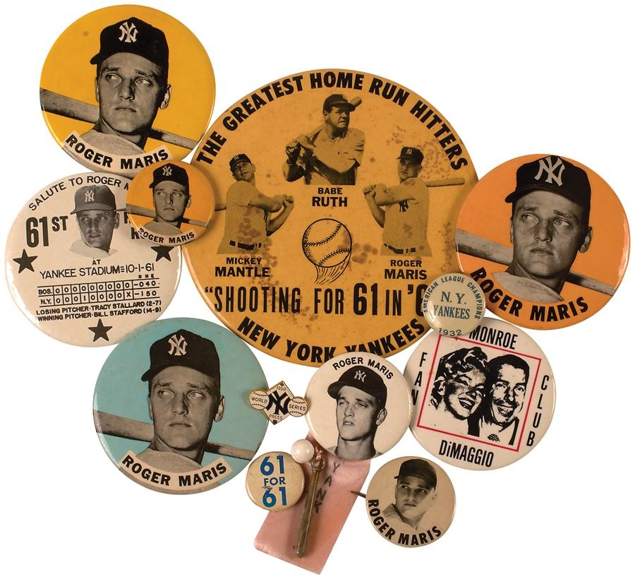 Historic New York Yankee Baseball Collection - Winter 2015 Catalog Auction