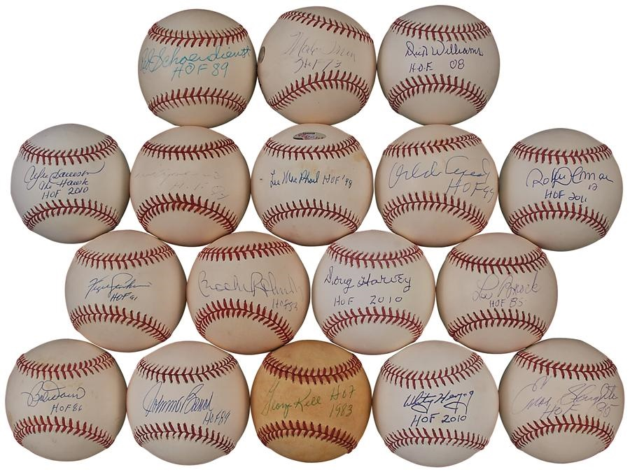 Baseball Autographs - Summer 2016 Catalog