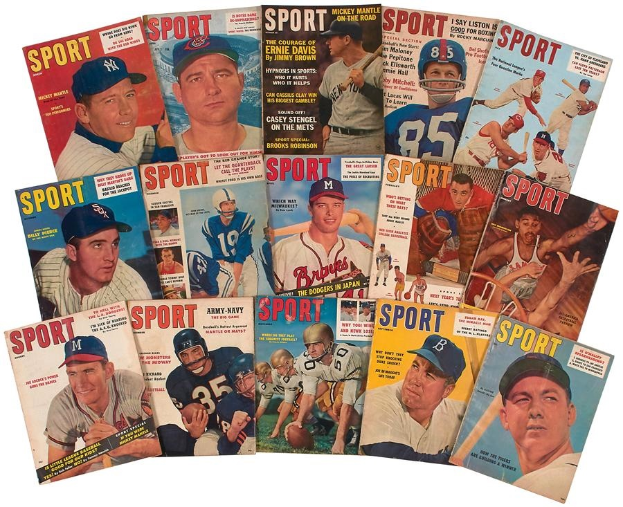 Baseball Magazine Collection - auction