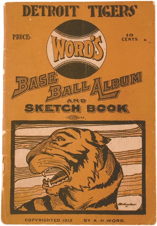 1912 Detroit Tigers Yearbook - Only One We Have Seen or Handled