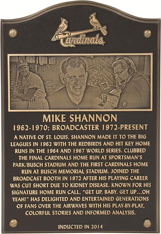 The Mike Shannon St. Louis Cardinals Collection - Fall 2016