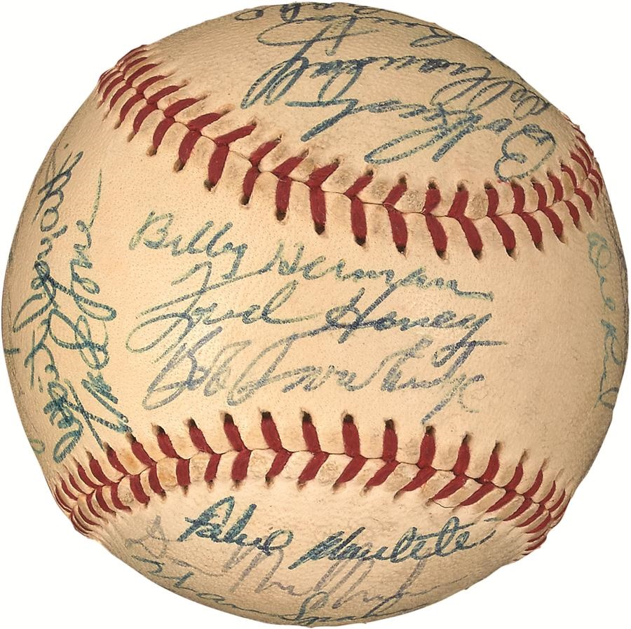 Baseball Autographs - Fall 2016