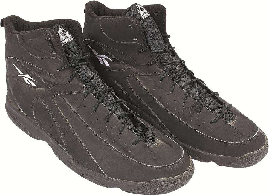 Shaquille O'Neal Orlando Magic Game Worn Sneakers