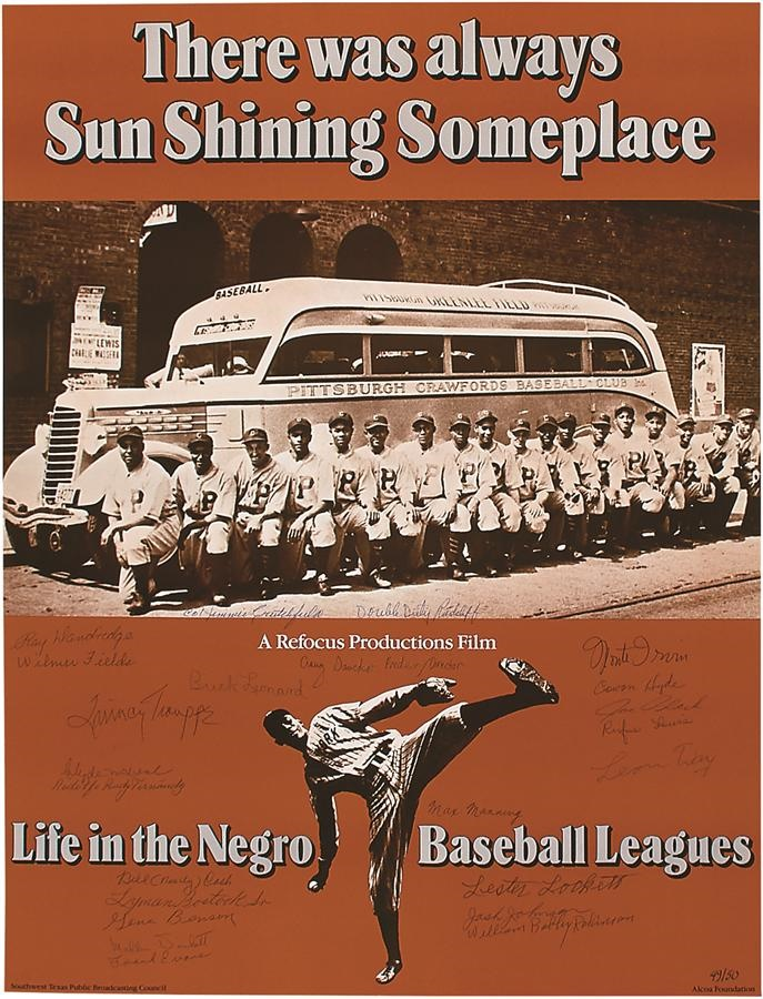 Negro League, Latin, Japanese & International Base - Fall 2016