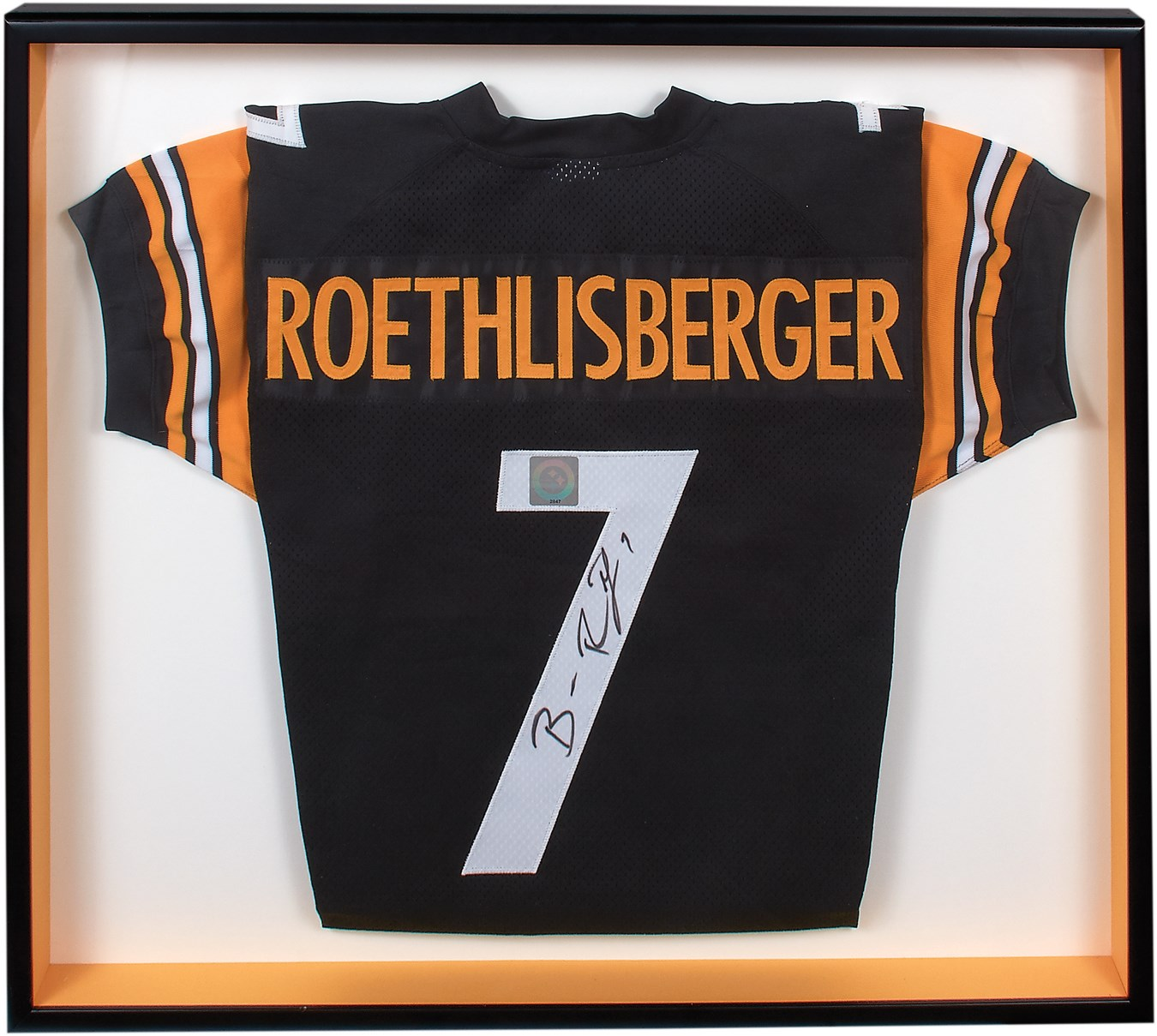 best service bb153 688a4 Ben Roethlisberger Signed Jersey w/Pittsburgh Steelers Team ...