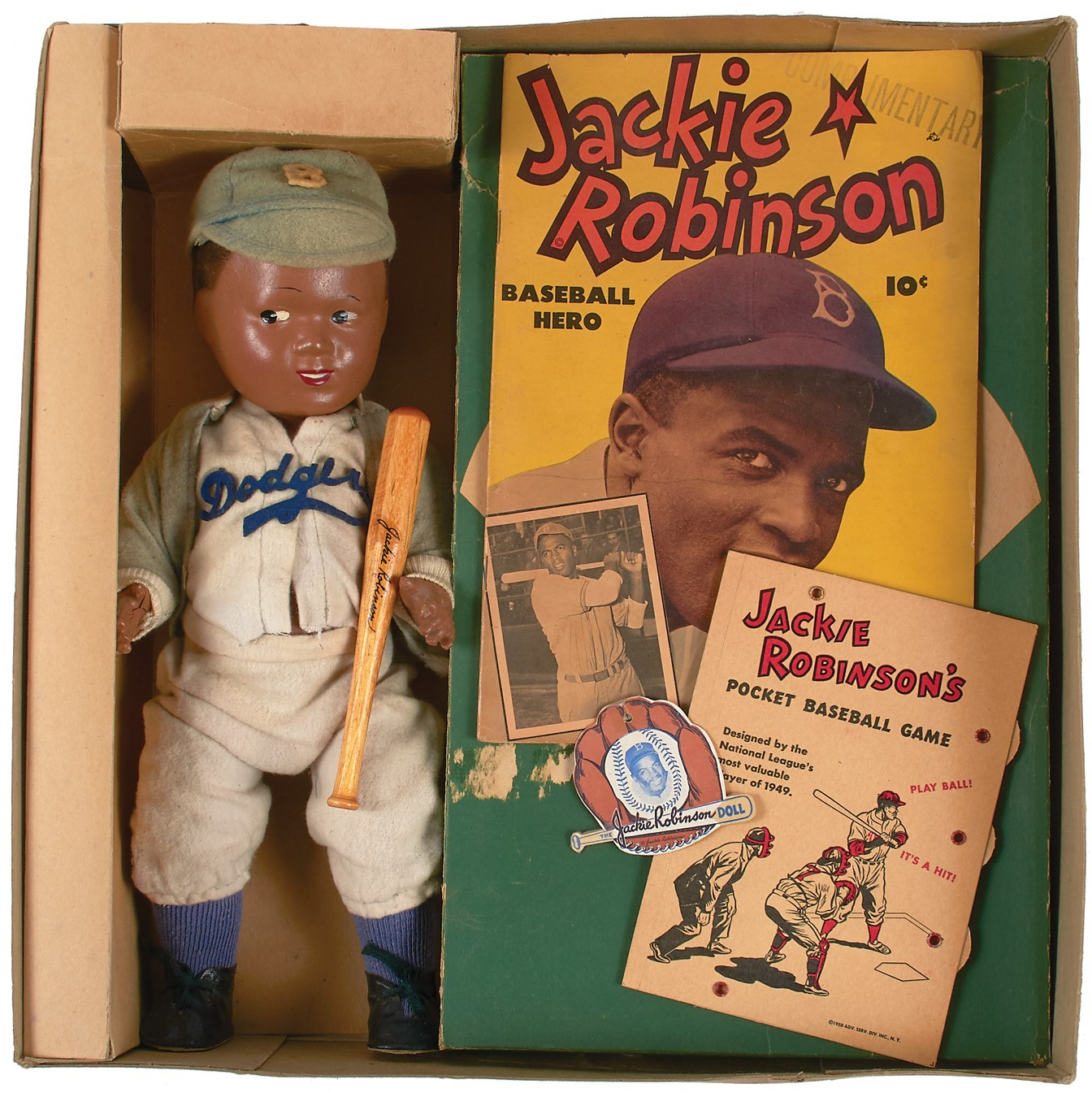 Jackie Robinson & Brooklyn Dodgers - Steel17