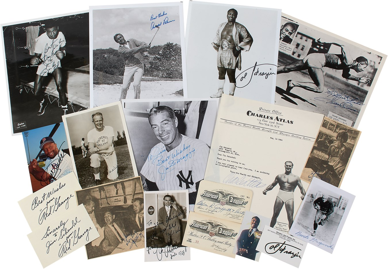 Jim Schendel Autograph Collection - Steel17