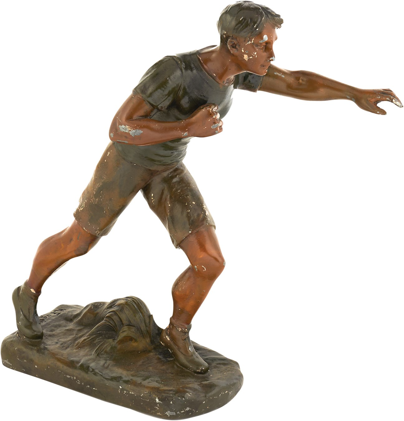 Early 20th Century Bronze Olympic Runner