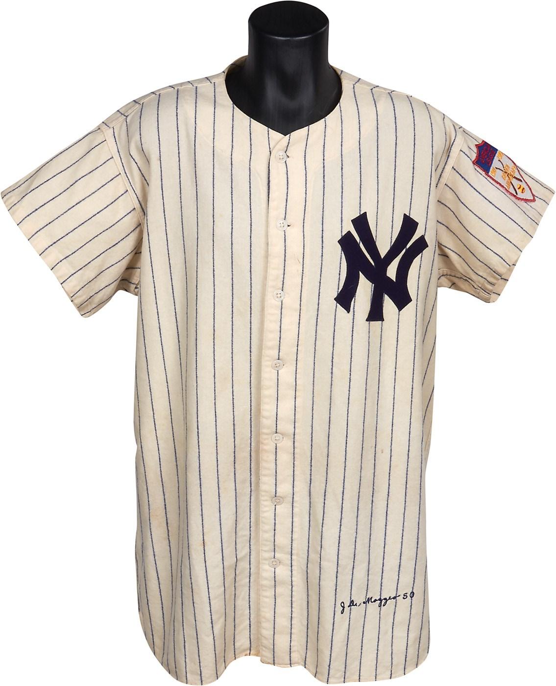 low priced a0798 7ad99 1950-51 Joe DiMaggio New York Yankees Game Worn Uniform ...