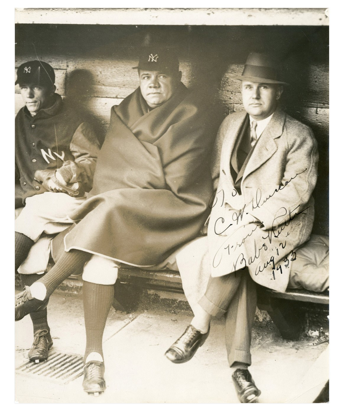 Babe Ruth and Lou Gehrig - Invit17