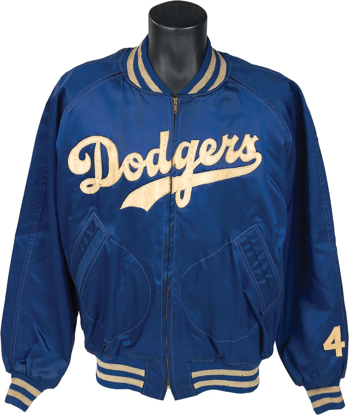 Jackie Robinson's Final Brooklyn Dodgers Jacket w/Letter from Jackie Robinson