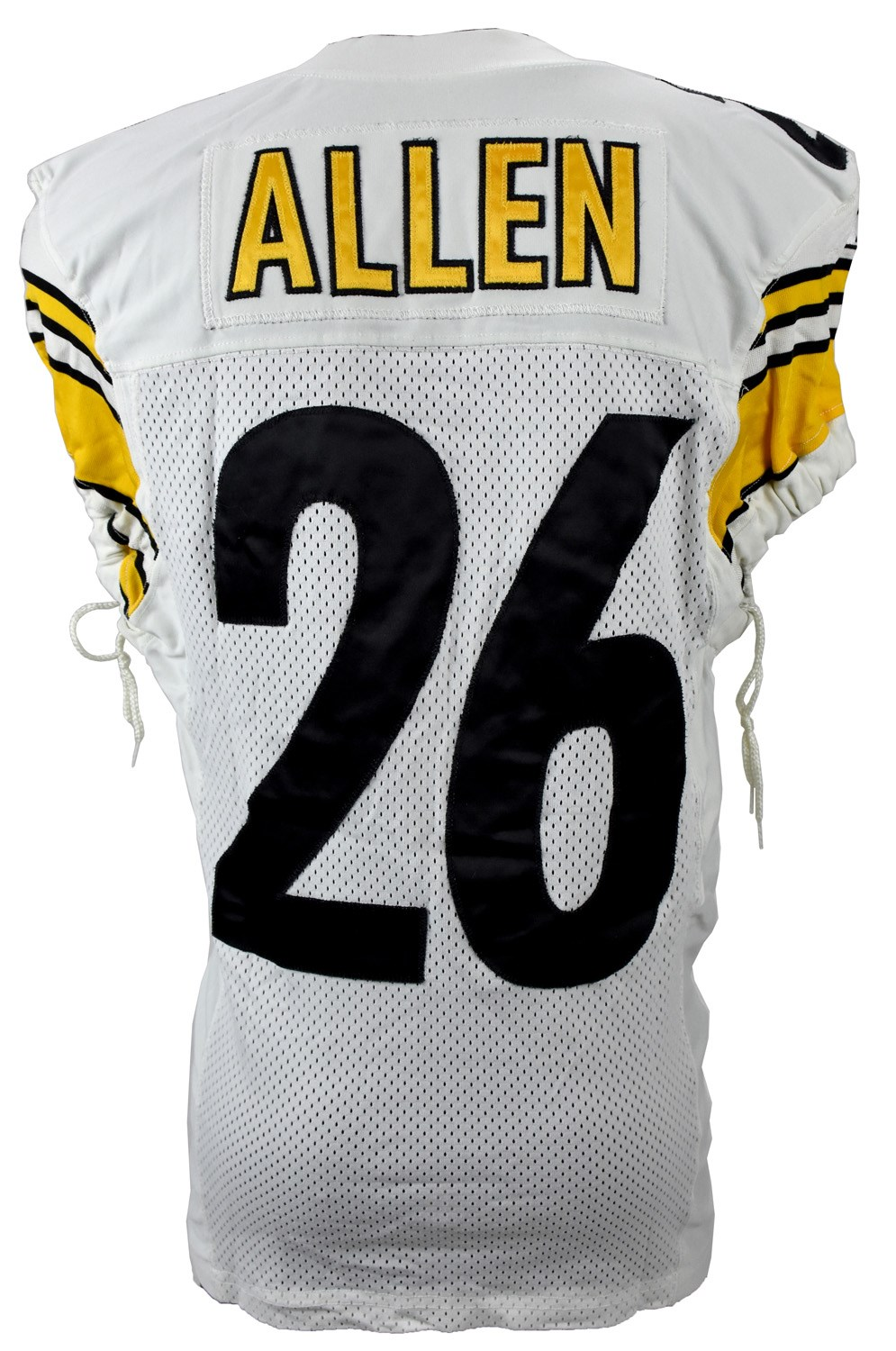 2011 Season Will Allen Pittsburgh Steelers AFC Wild Card Game Worn Jersey (Photo-Matched, Resolution Photomatching LOA)