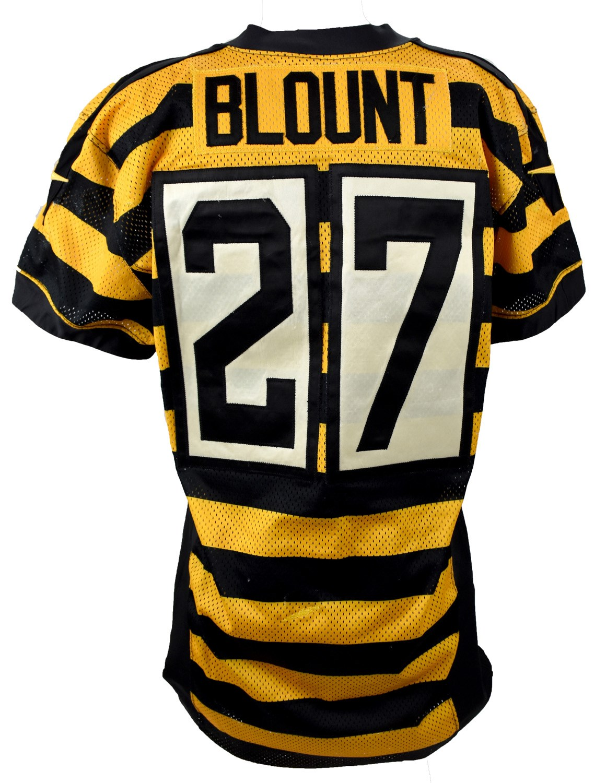 quality design 08c26 c3618 2014 LeGarrette Blount Pittsburgh Steelers Game Worn ...