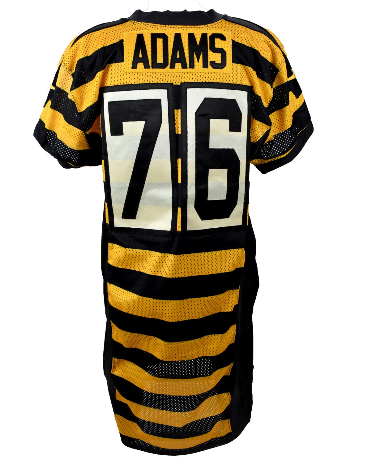 separation shoes b30ae 8145d 2015 Mike Adams Pittsburgh Steelers Game Worn Throwback Jersey