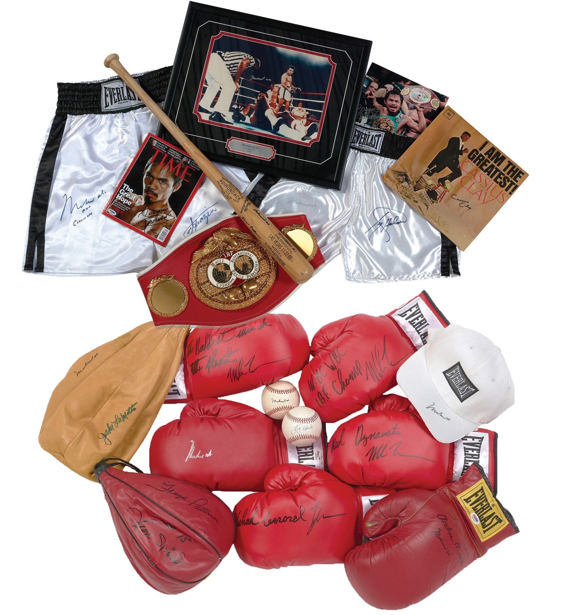 Muhammad Ali & Boxing Legends Autograph Collection (19)