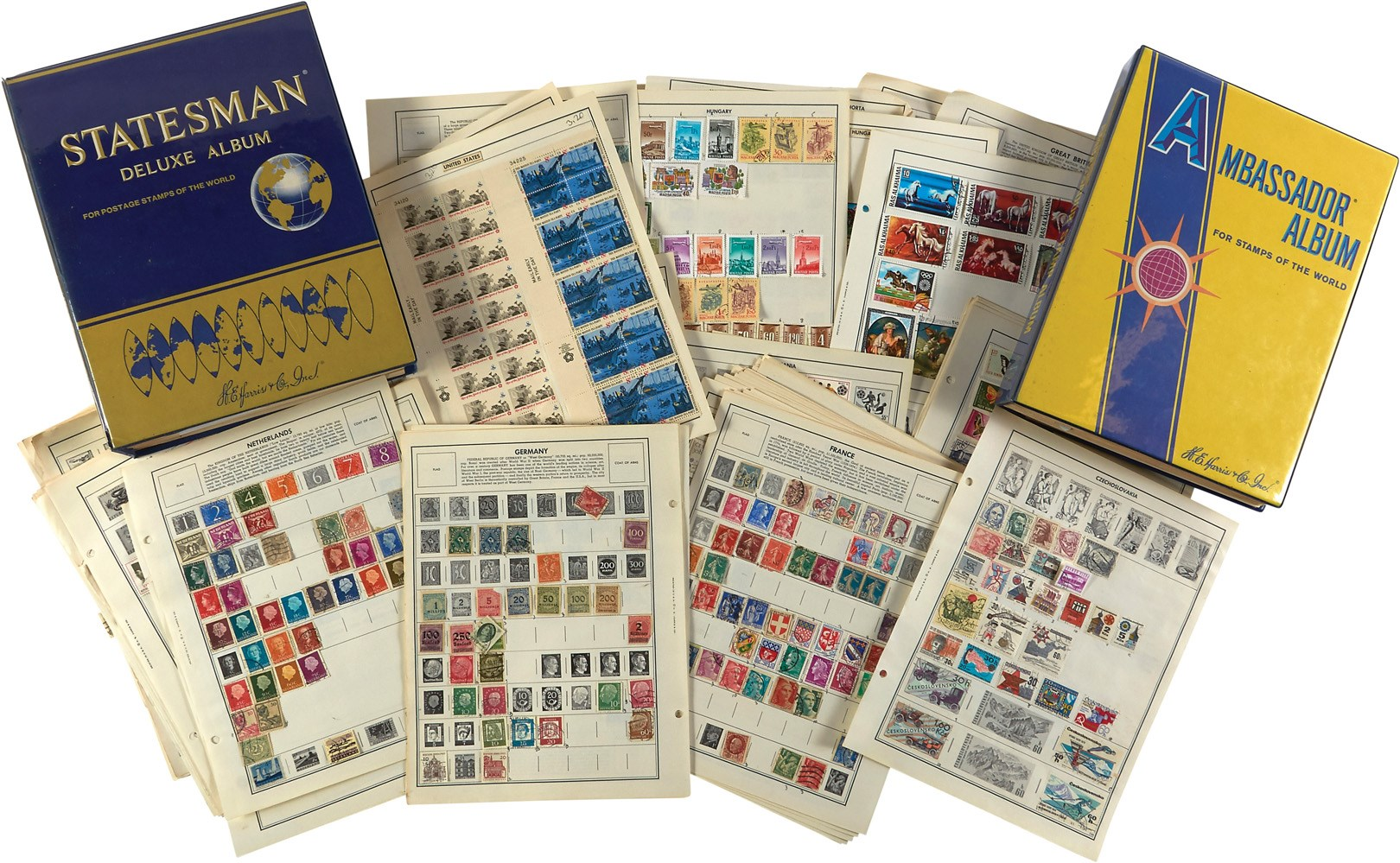 Vintage U.S. & International Postage Stamp Collection