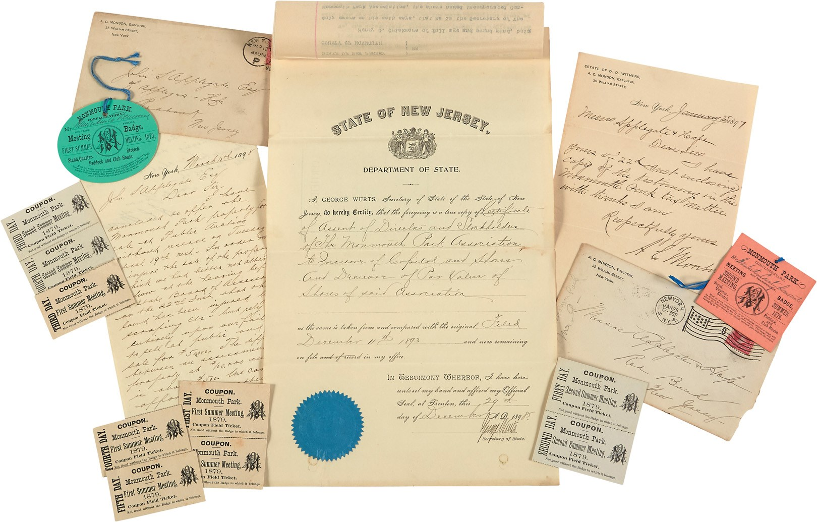 19th Century Historic Monmouth Park Collection (14)