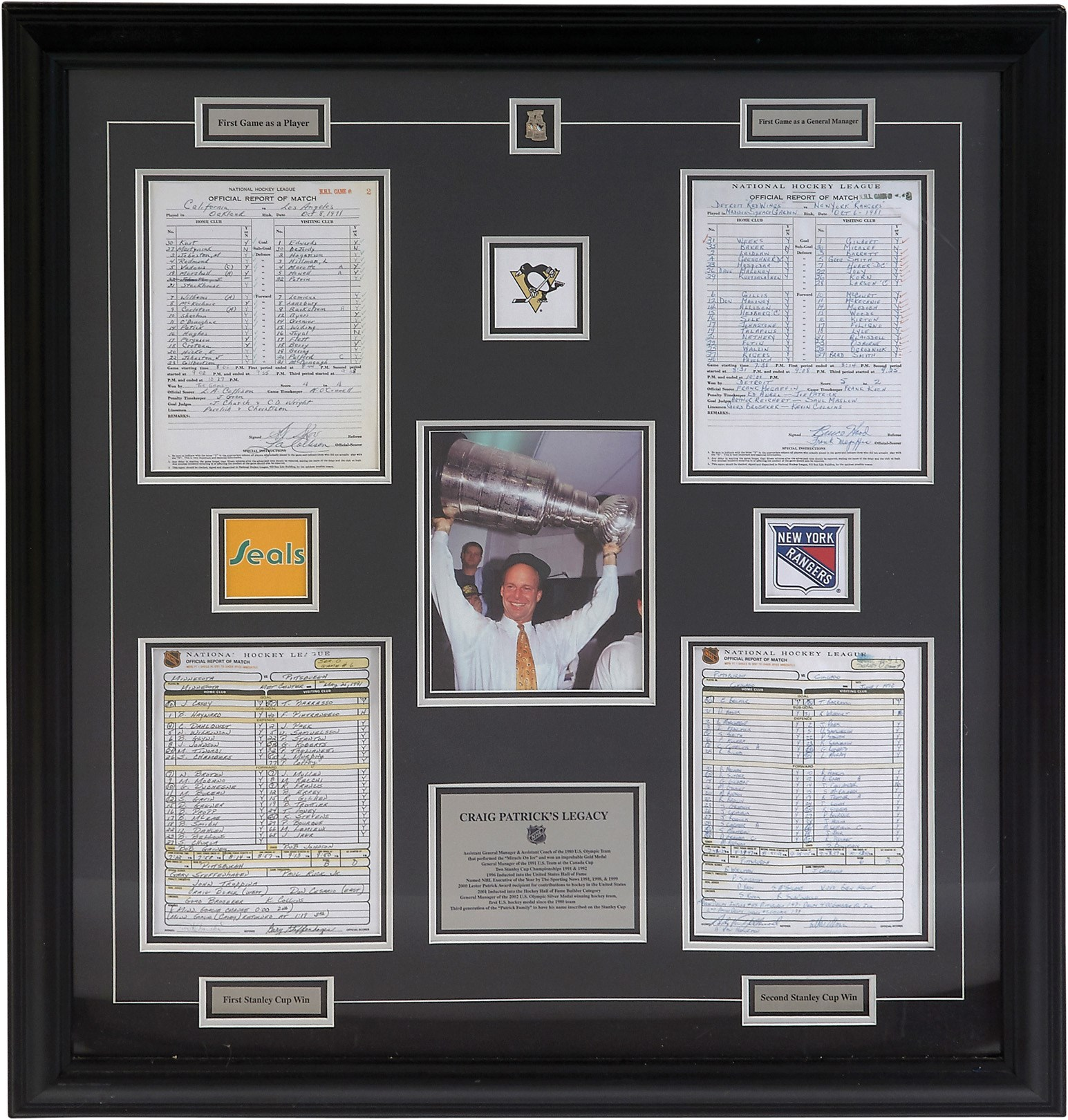 The Craig Patrick Hockey Collection - Leland's Classic